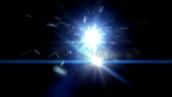 فوتیج انجار نور-کد 113502