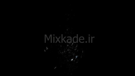 فوتیج خرد شدن شیشه-کد 114403