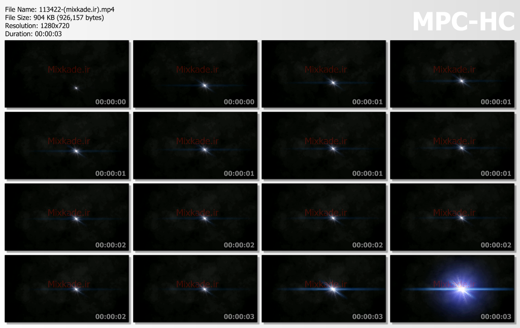فوتیج نور-کد 113422
