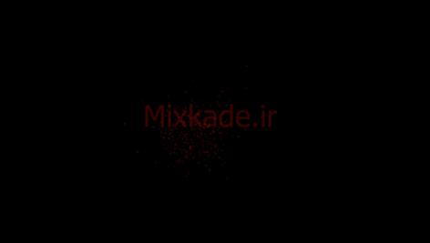 فوتیج ذرات-کد 112018