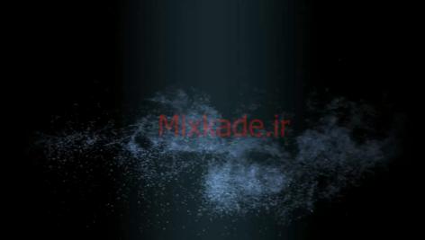 فوتیج ذرات-کد 112019
