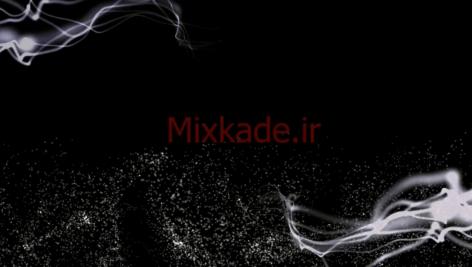 فوتیج ذرات-کد 112030