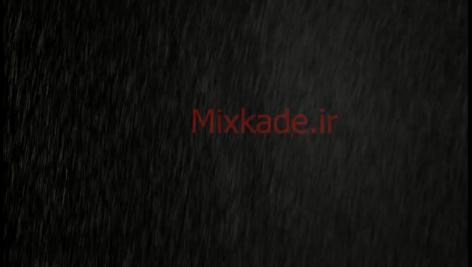 فوتیج بارش باران-کد 112521