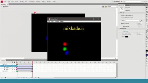 آموزش انیمیشن سازی با لایه راهنما