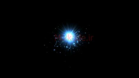 فوتیج نور و ذره