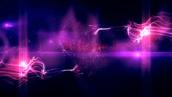 فوتیج نور و ذرات
