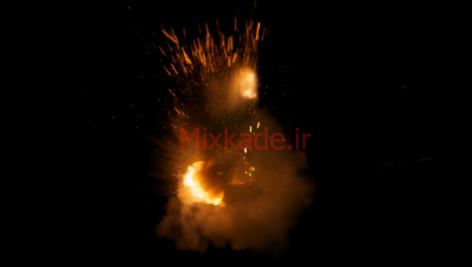 فوتیج آتش