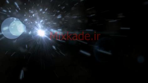 فوتیج نور انفجاری